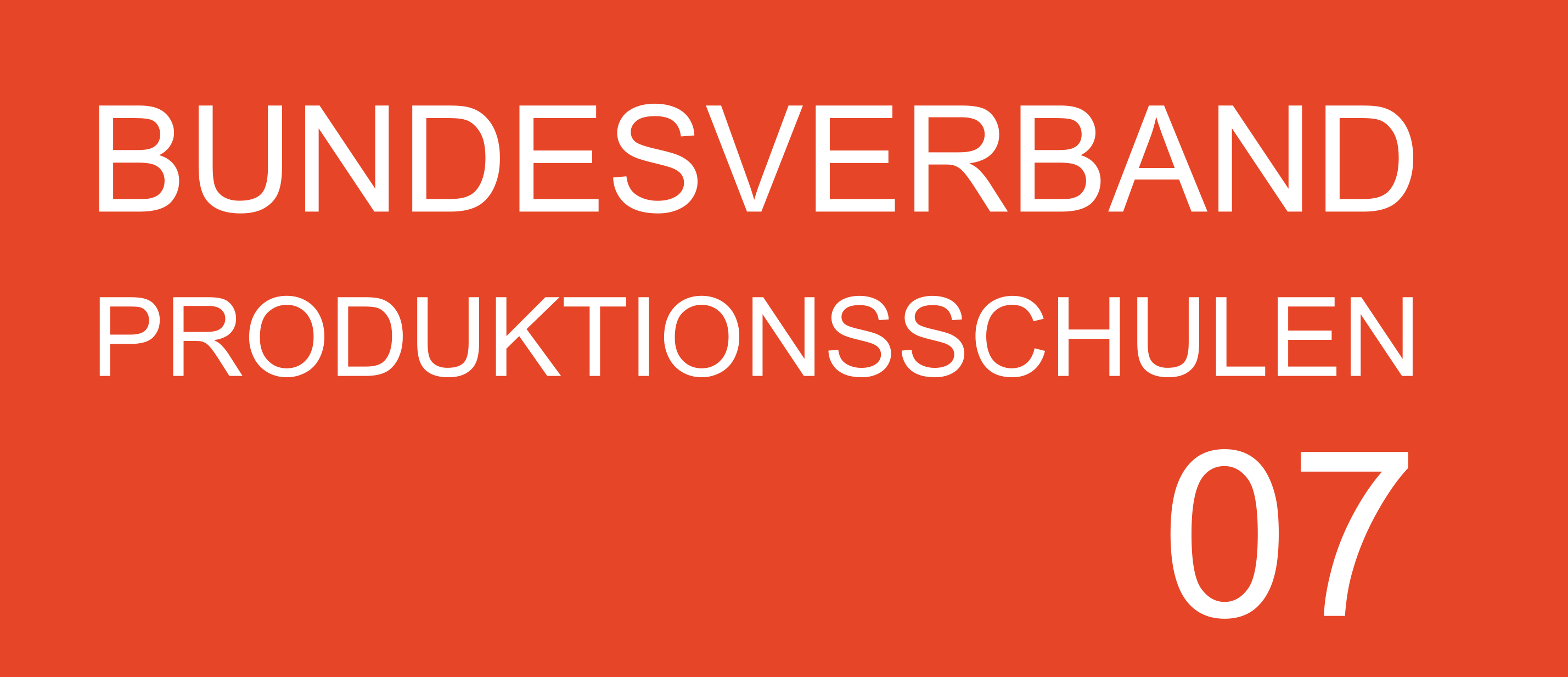 Bundesverband Produktionsschulen e.V.